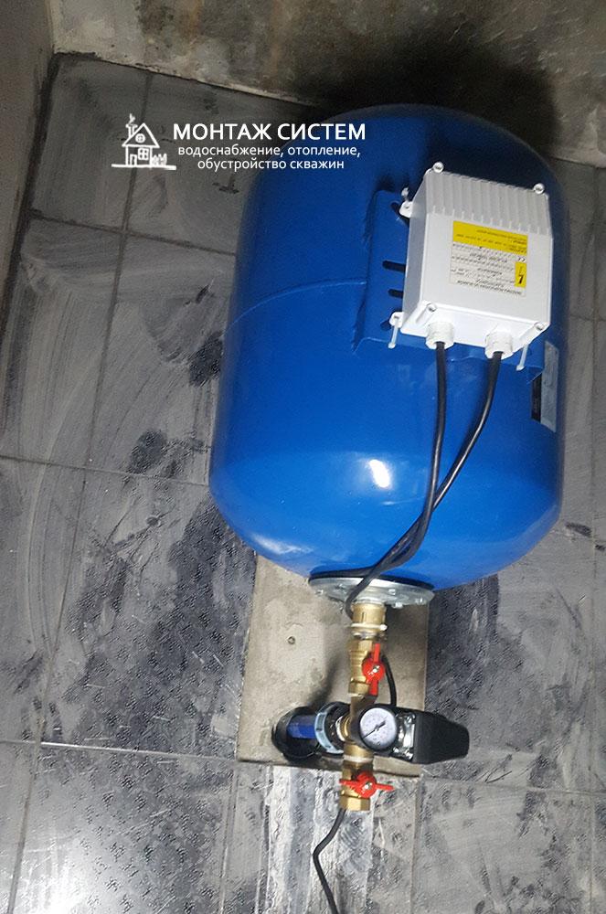 Гидроаккумулятор в доме, фото